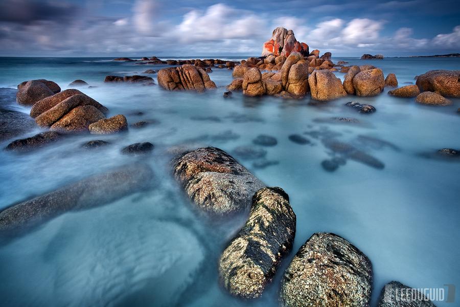 Picnic Rocks, Mt William National Park, Tasmania, Australia